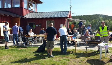 Fly-in på Tynset i august