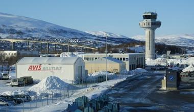 Tromsø lufthavn. FOTO: Algkalv/Wikimedia Commons
