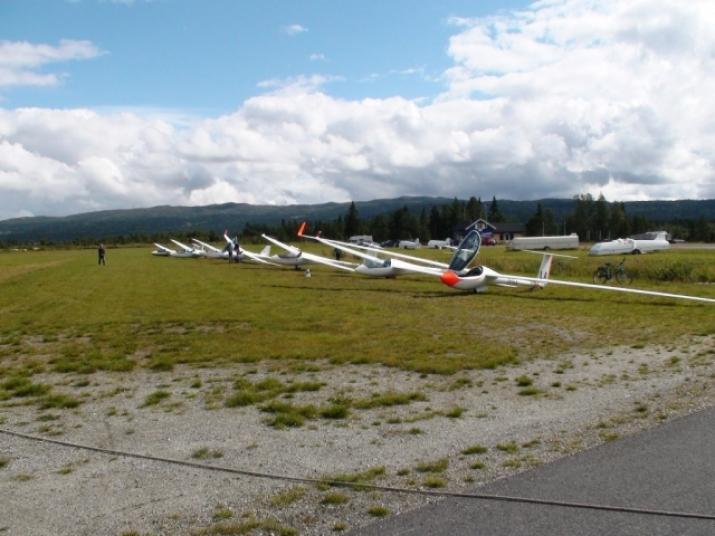 Grid på Klanten flyplass