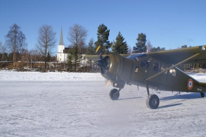 Velkommen til Fly-in gudstjeneste i Åsnes Finnskog kirke