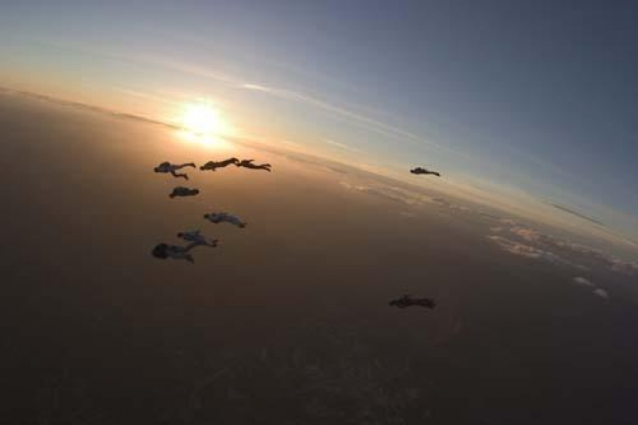 Fallskjermshopping